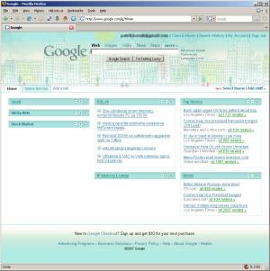 Google homepage už nemusí byť biela